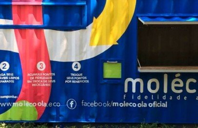 Molécoola: primeira rede de lojas de recicláveis do Brasil