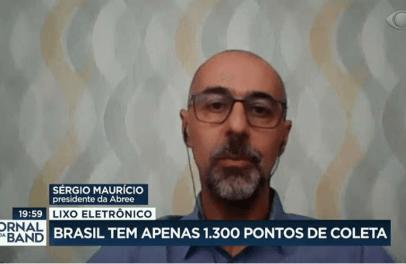 ABREE participa de reportagem do Jornal da BAND