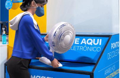 ABREE e Magalu fecham parceria para 500 pontos de recebimento